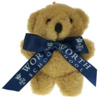 Honey Bear Tiny Ted Bow