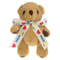 Honey Bear 13cm Bow