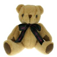 Honey Bear 20cm Bow