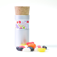 Corked Pod With Sweets