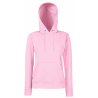 G159 Fruit Of The Loom Lady Fit Hooded Sweat