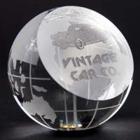 G147 80mm Optical Crystal Globe