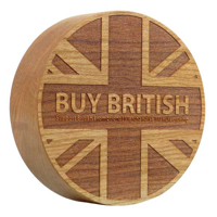 G147 92mm Wood Paperweight