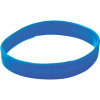 G077 Debossed Silicone Wristband