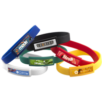 G077 Domed Silicone Wristband