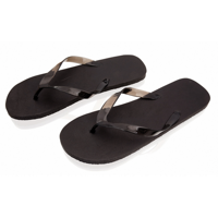 Flip Flops with Translucent Strap