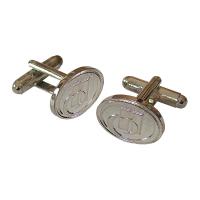 Metal Relief Cufflinks