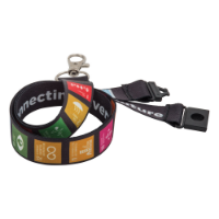 15mm Dye Sublimation Print Lanyard