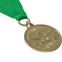 Stamped Iron Medal (35mm)