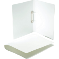 Polypropylene Ring Binder - Available in Frosted White or Frosted Clear