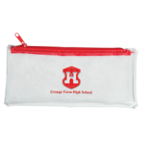 PVC Pencil Case (Available In 6 Stock Colours)