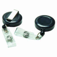Plastic Pull Reels (UK Stock: Available In Black Or White)