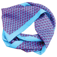 Printed Polyester Scarf (Square)