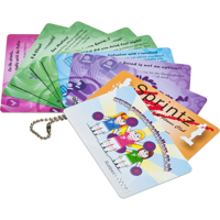Printed Plastic Cards (54 x 30mm 0.76mm thick)