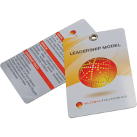 Printed Plastic Cards (86 x 54mm 0.76mm thick)