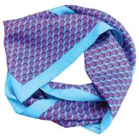Printed Silk Scarf (Long: Full Colour)