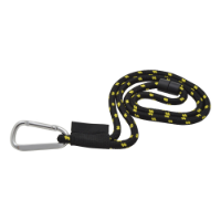 Rope Lanyard With Woven Label