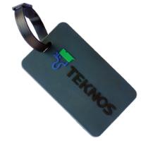 Soft PVC Luggage Tag (Small: Soft Frame)