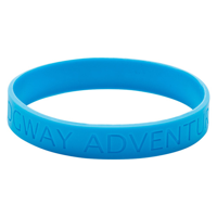 Silicone Wristband (Recessed design)