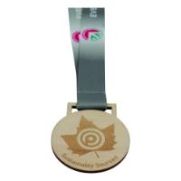 60mm Wooden Medal