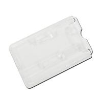 Plastic Card Holder With Slide Ejector