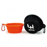 Dog Bowl with Carabiner