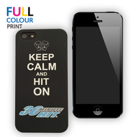 iPhone Cover - Hard Shell with Rubber Finish
