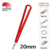 5 DAY EXPRESS - 20mm Lanyard - 1 Side
