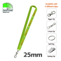 5 DAY EXPRESS - 25mm Lanyard - 1 Side