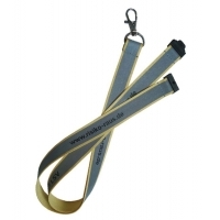 Reflective Lanyards - 25mm - 2 Sides