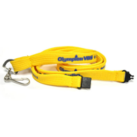 10mm Tubular Polyester Lanyard - 1 Side