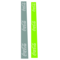 Hi Vis - EN Certified Snap Bands  - Medium
