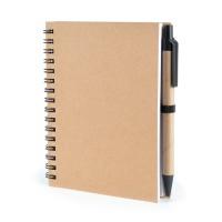 Eco Friendly A6 wiro-bound Notebook - Verno