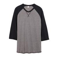 Dugout 3/4 Sleeve Vintage 50/50 T-Shirt