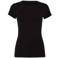 Baby Rib Short Sleeve Crew Neck T-Shirt