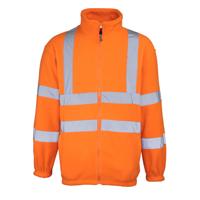 High-Visibility Full Zip Fleece