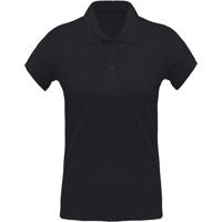 Women'S Organic Piqué Short Sleeve Polo Shirt