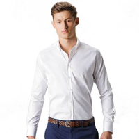 Stretch Oxford Shirt Long-Sleeved (Slim Fit)