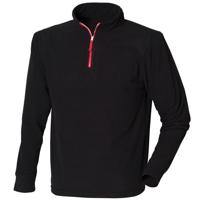 ¼ Zip Long Sleeve Fleece Piped