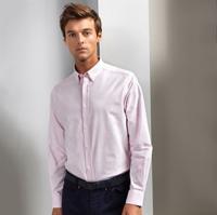 Cotton-Rich Oxford Stripes Shirt