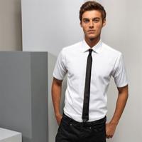 Stretch Fit Cotton Poplin Short Sleeve Shirt