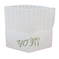 Non-Woven Chefs Hat 230mm/9.0inch