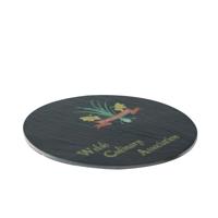 Round Slate Coaster (10cm)