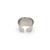 Napkin Ring Stainless Steel 5cm