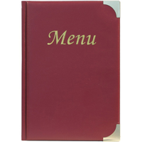 A5 Wine Menu Holder - 8 pages