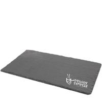 Natural Edge Slate Platter (25x13cm)