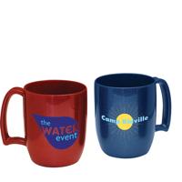 Recycled Plastic Non Chip Mug