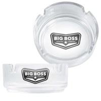 Clear Glass Ashtray (3.5