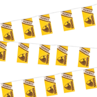 Rectangular Synthetic Bunting  - Outdoor