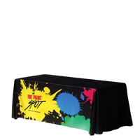 Full Colour, Full Coverage Tablecloth Fitted - 76 x 183cm